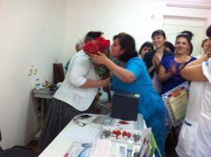 Поздравление с днем медицинского работника главврача от сотрудников