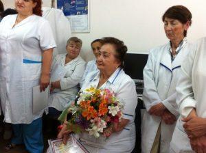 Старшая медицинская сестра Зарема Юнусовна